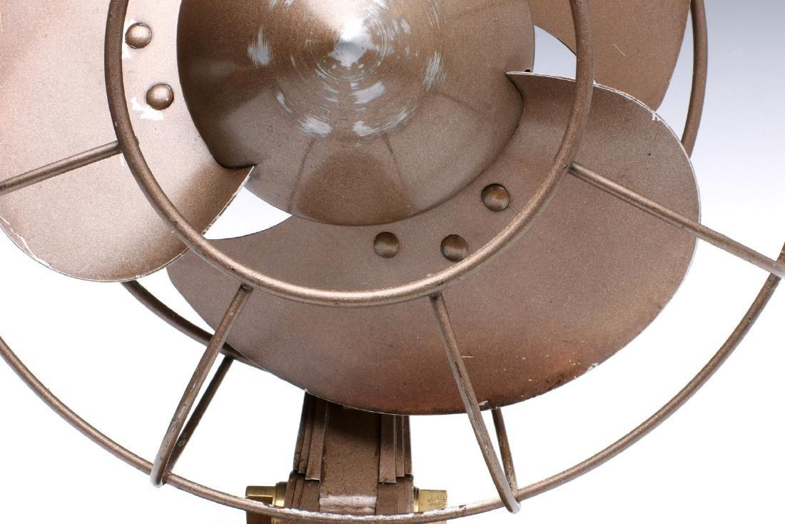 A GENERAL ELECTRIC ART DECO 'QUIET' FAN CIRCA 1932 - 5