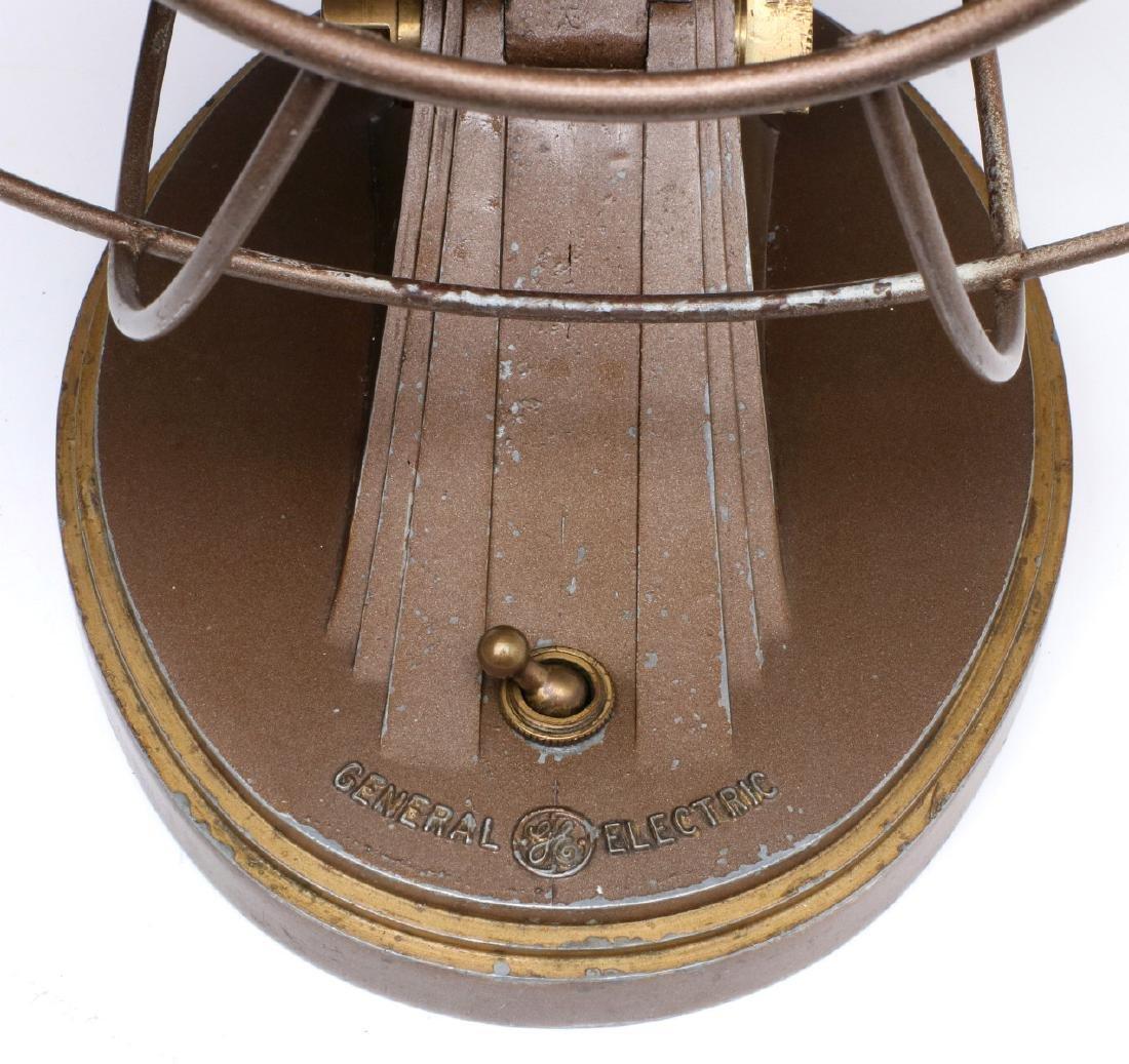 A GENERAL ELECTRIC ART DECO 'QUIET' FAN CIRCA 1932 - 6