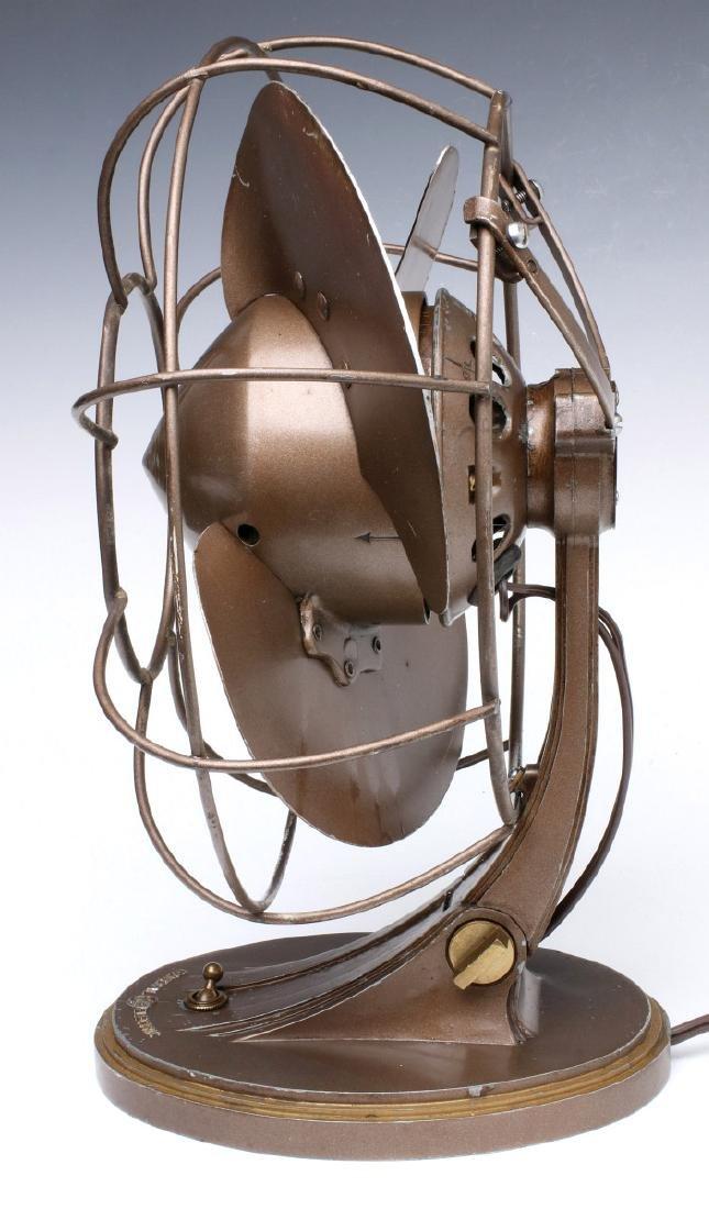 A GENERAL ELECTRIC ART DECO 'QUIET' FAN CIRCA 1932 - 7