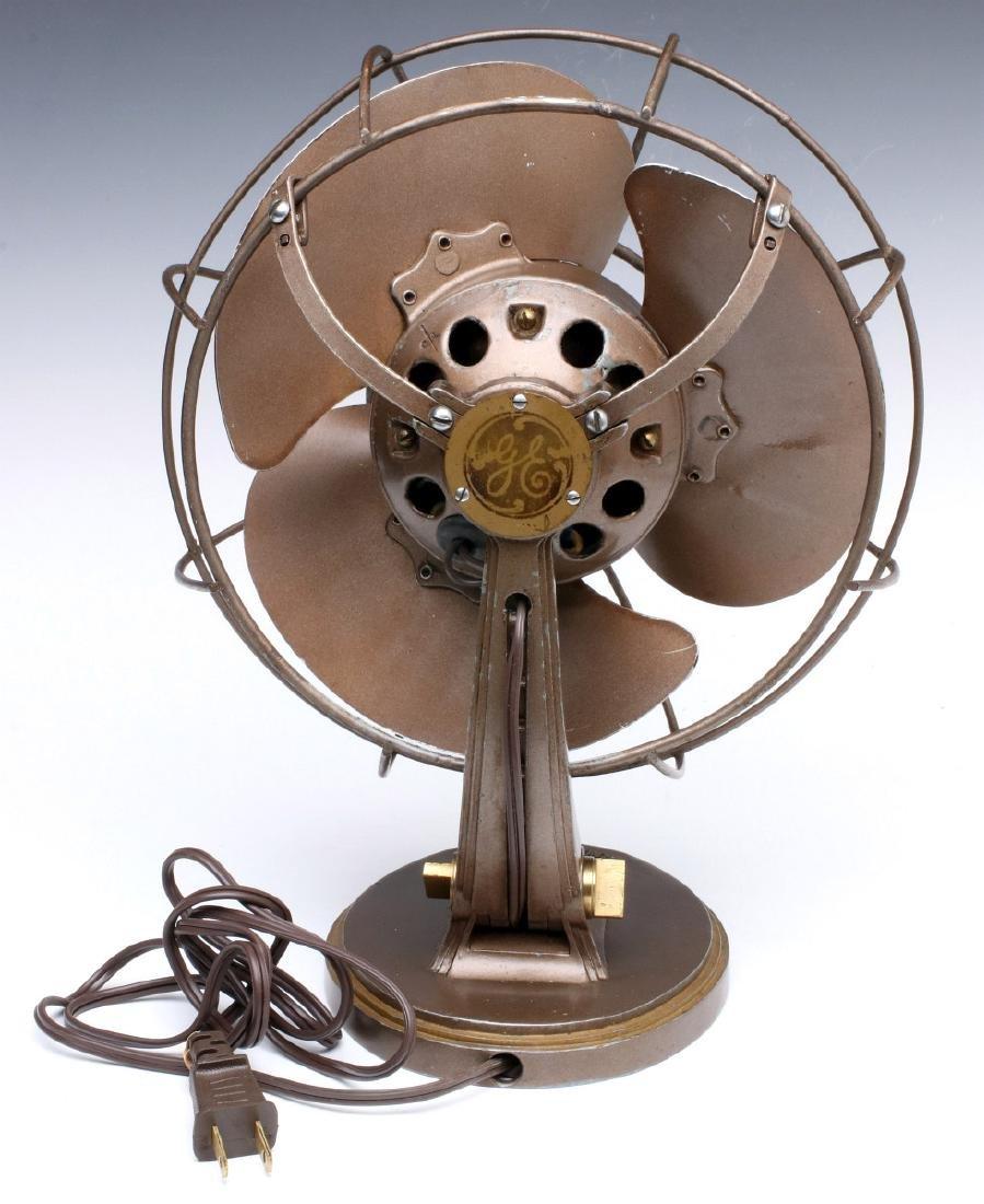 A GENERAL ELECTRIC ART DECO 'QUIET' FAN CIRCA 1932 - 8