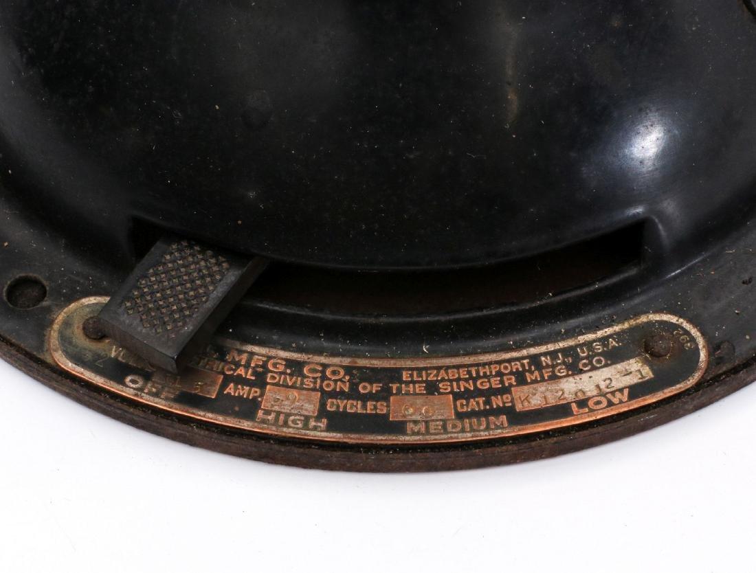 A DIEHL CO. BRASS BLADE ELECTRIC FAN CIRCA 1936 - 5