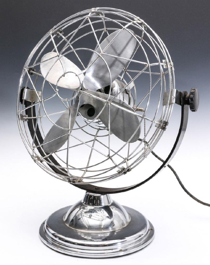 AN 1940s AIR-BEAM ART DECO FAN