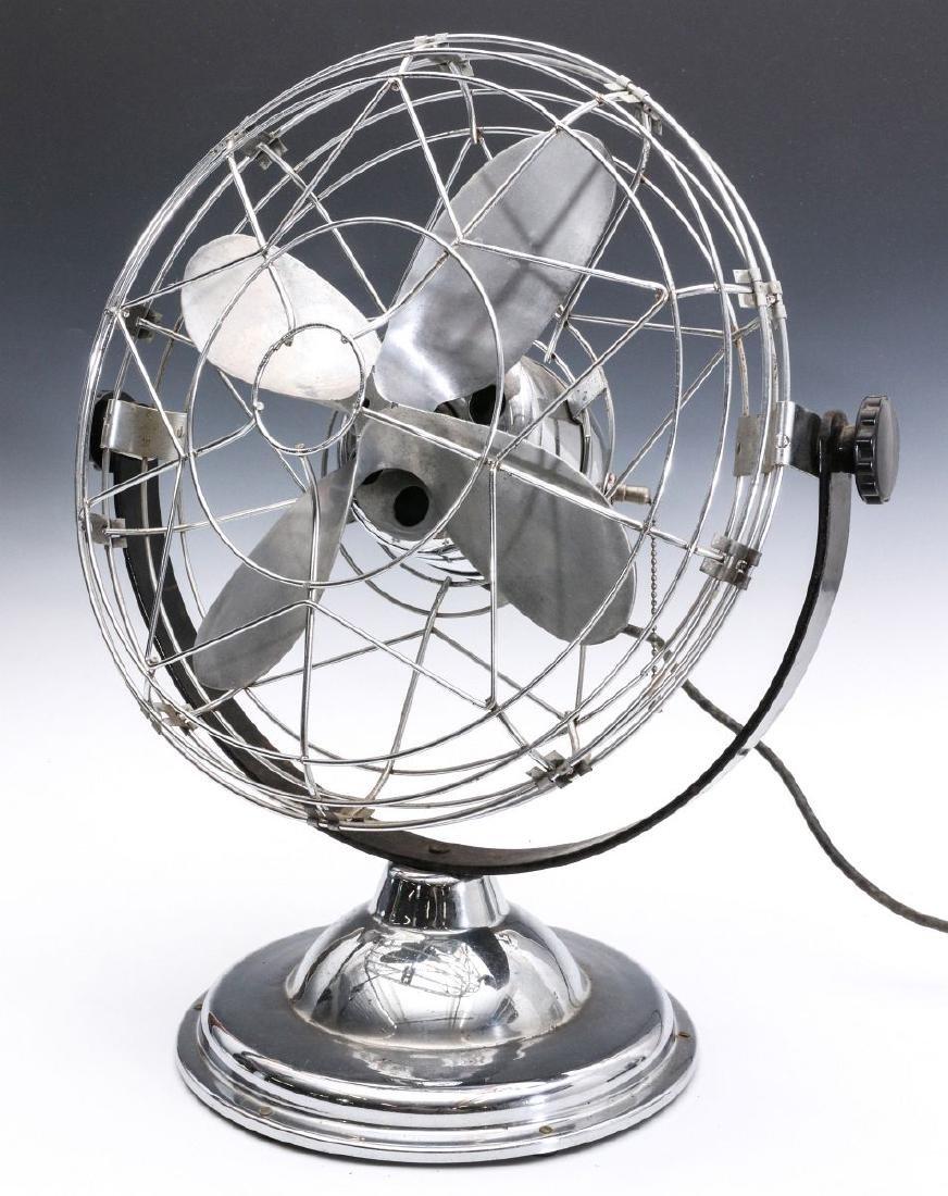 AN 1940s AIR-BEAM ART DECO FAN