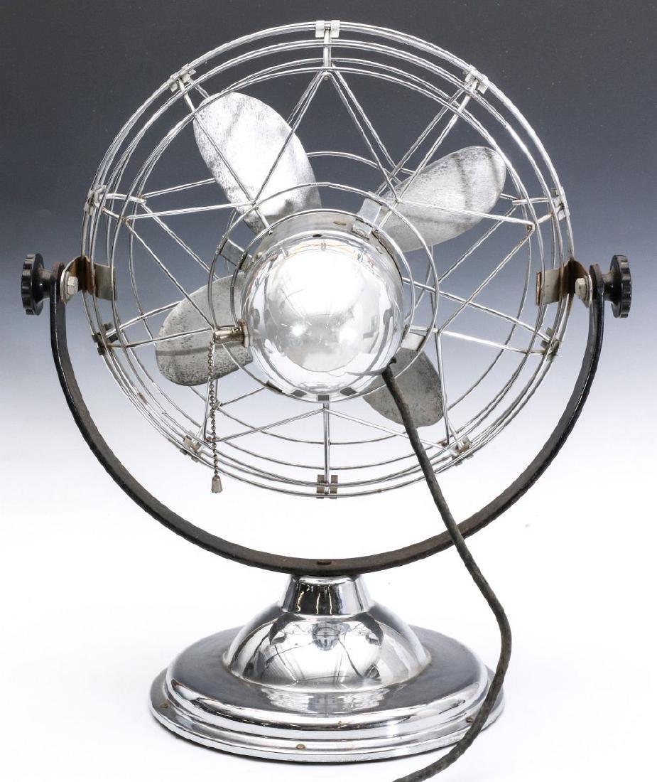 AN 1940s AIR-BEAM ART DECO FAN - 5