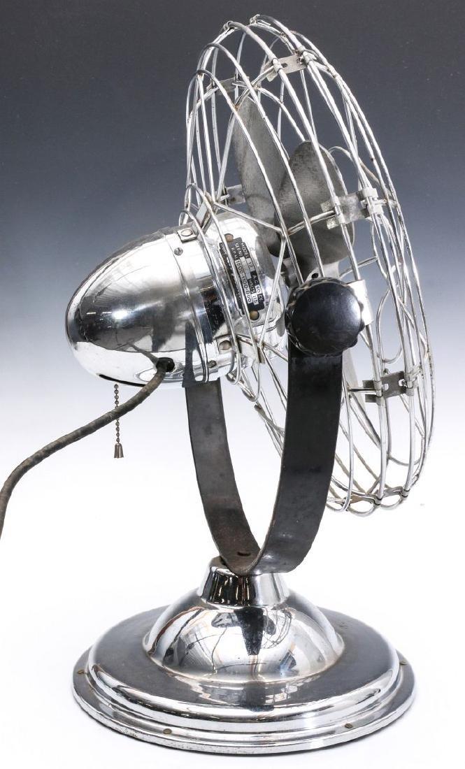 AN 1940s AIR-BEAM ART DECO FAN - 8