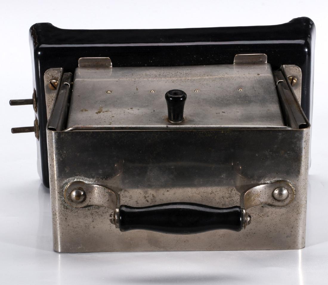 A SIMPLEX T-211 VAR 1 ELECTRIC TOASTER, CIRCA 1909 - 7