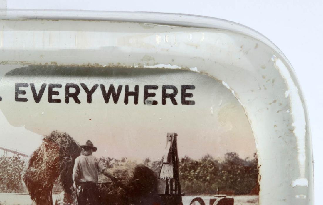 TURNER 'WHOLESALE HAY' WICHITA PAPERWEIGHT C. 1910 - 5