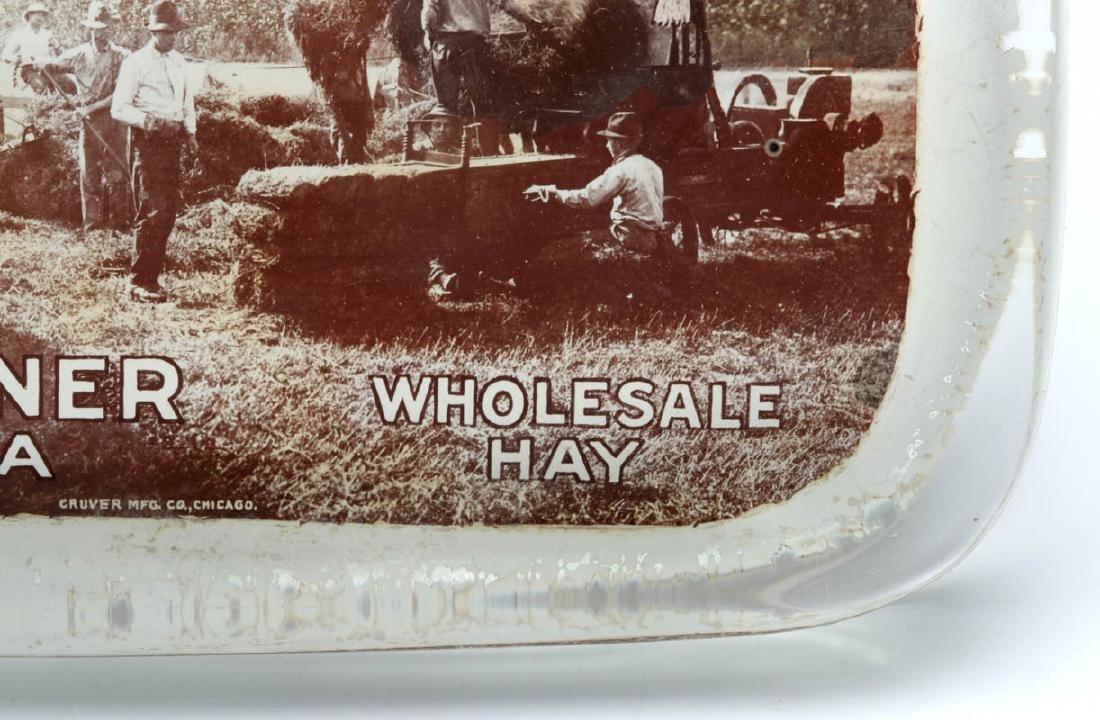TURNER 'WHOLESALE HAY' WICHITA PAPERWEIGHT C. 1910 - 6