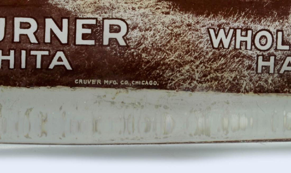 TURNER 'WHOLESALE HAY' WICHITA PAPERWEIGHT C. 1910 - 8