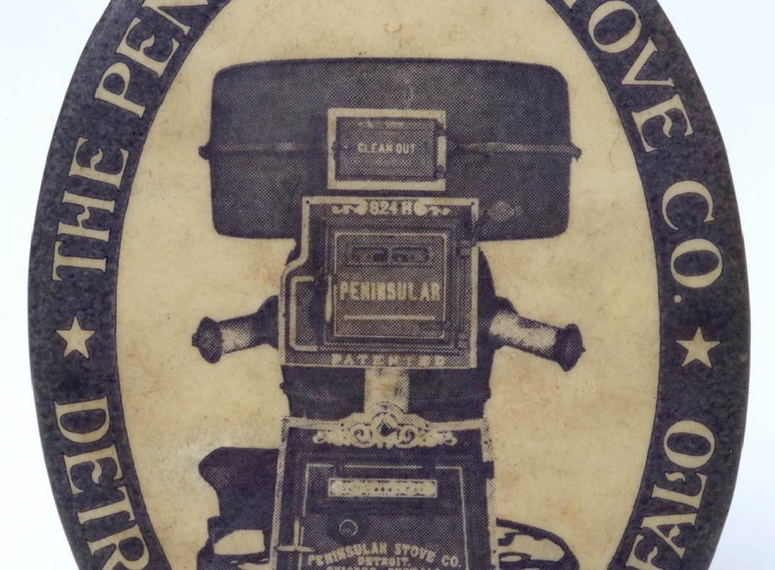 THE PENINSULAR STOVE CO. ADVERTISING POCKET MIRROR - 4