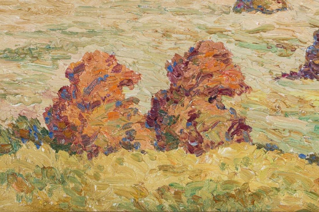 BIRGER SANDZEN (1871-1954) OIL ON BOARD - 10