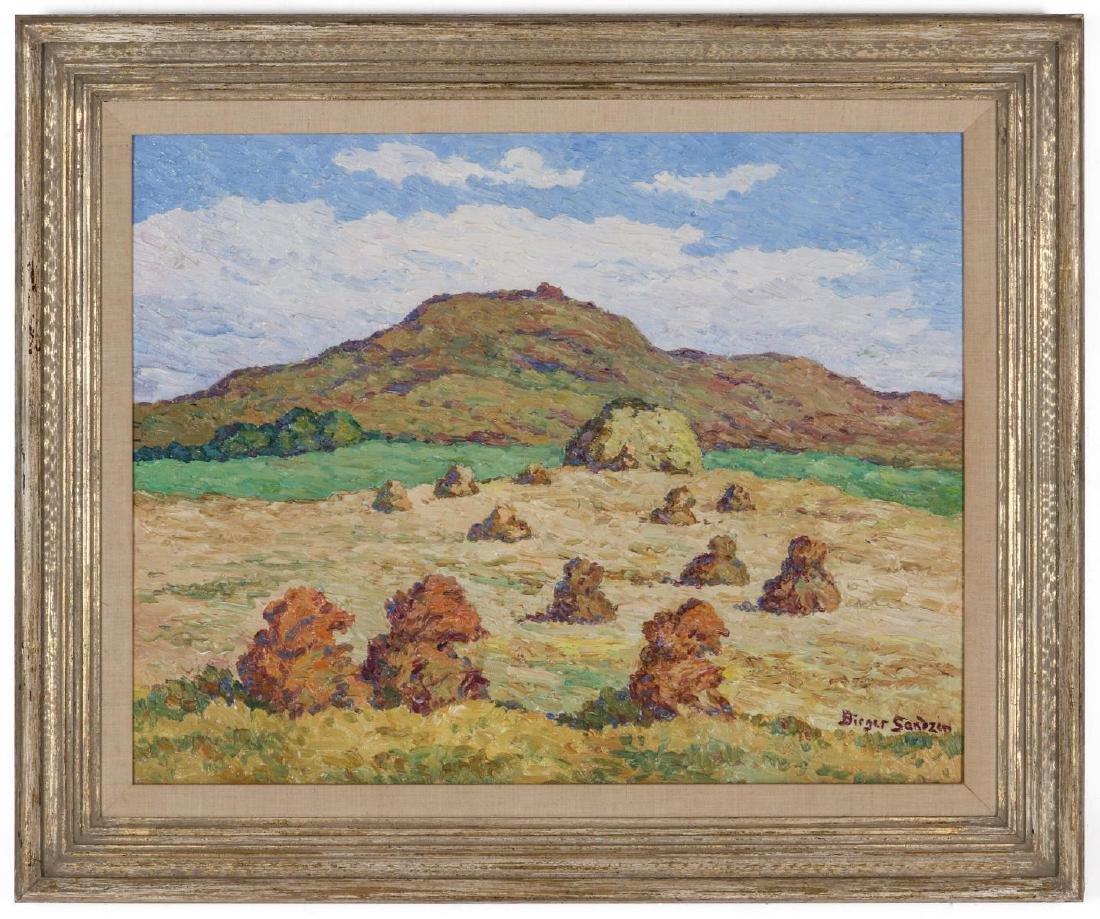 BIRGER SANDZEN (1871-1954) OIL ON BOARD - 2