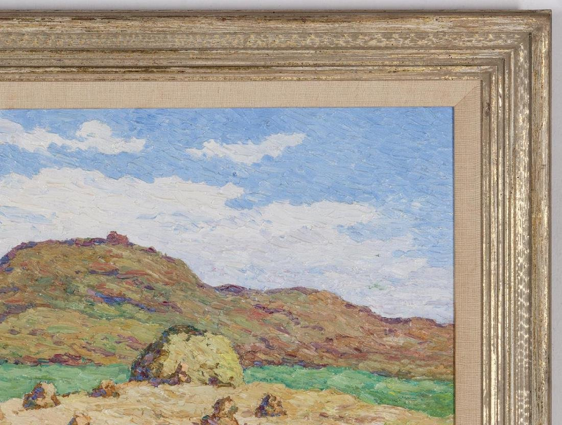 BIRGER SANDZEN (1871-1954) OIL ON BOARD - 4