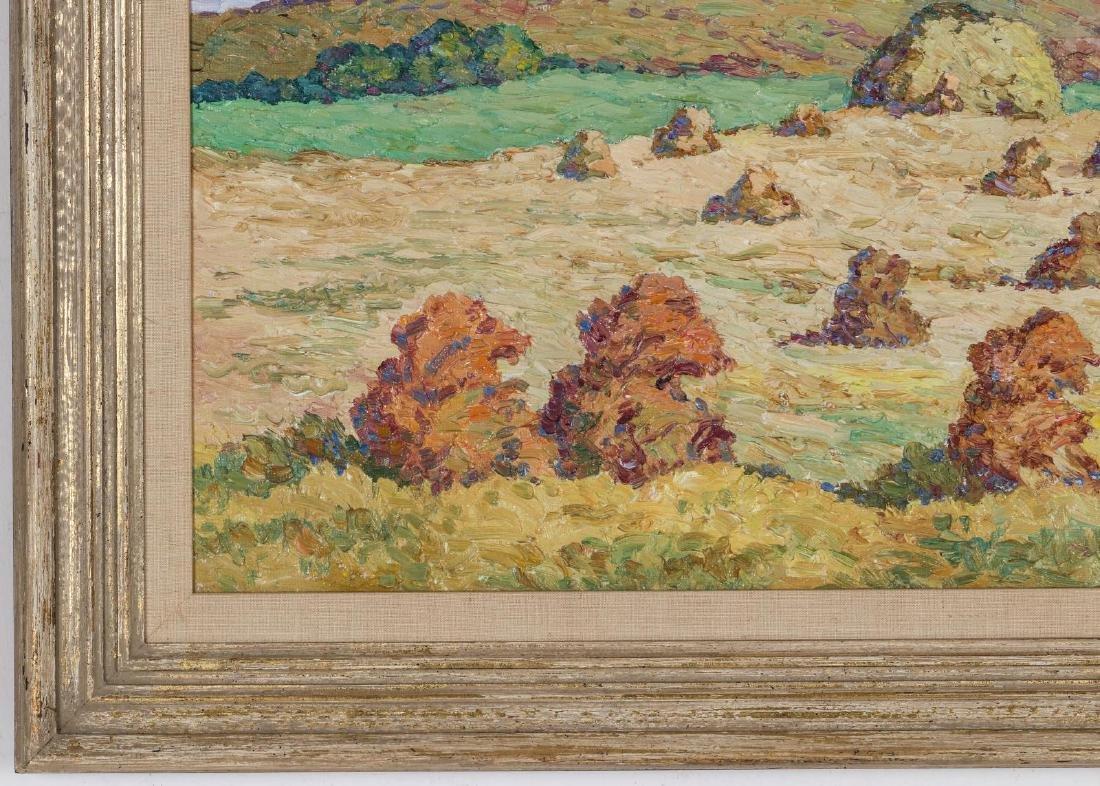 BIRGER SANDZEN (1871-1954) OIL ON BOARD - 6