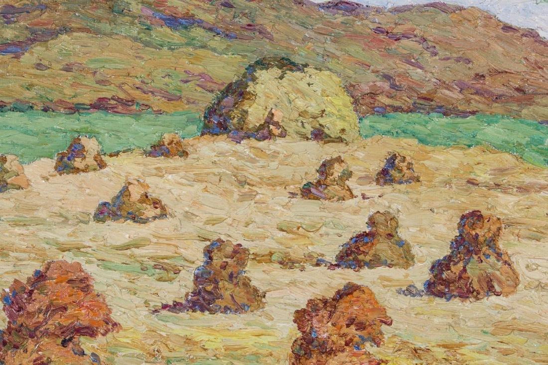 BIRGER SANDZEN (1871-1954) OIL ON BOARD - 8