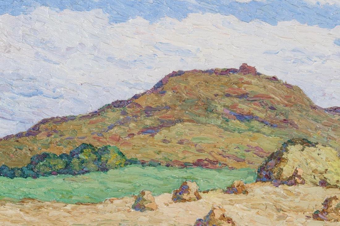 BIRGER SANDZEN (1871-1954) OIL ON BOARD - 9