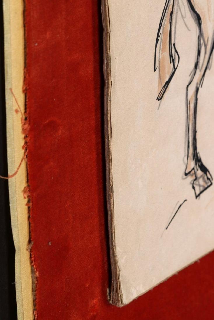 THOMAS HART BENTON (1889-1975) INK WASH C. 1930s - 10