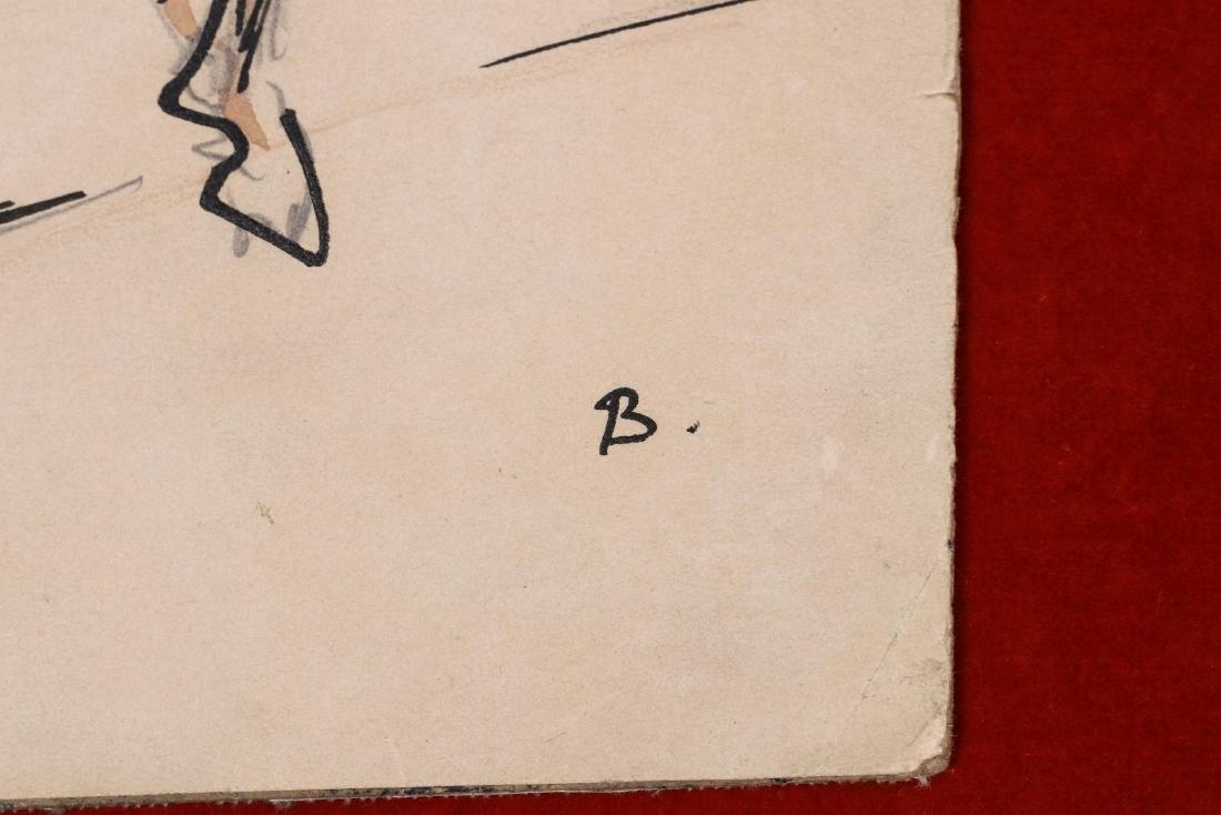 THOMAS HART BENTON (1889-1975) INK WASH C. 1930s - 8