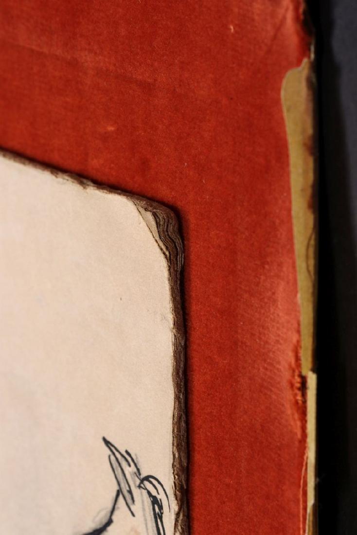THOMAS HART BENTON (1889-1975) INK WASH C. 1930s - 9