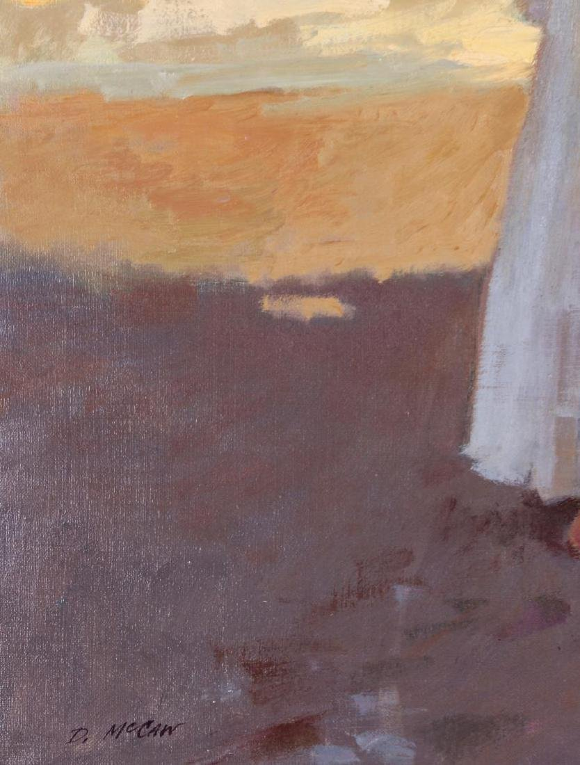 DAN McCAW (BORN 1942) OIL ON CANVAS - 6