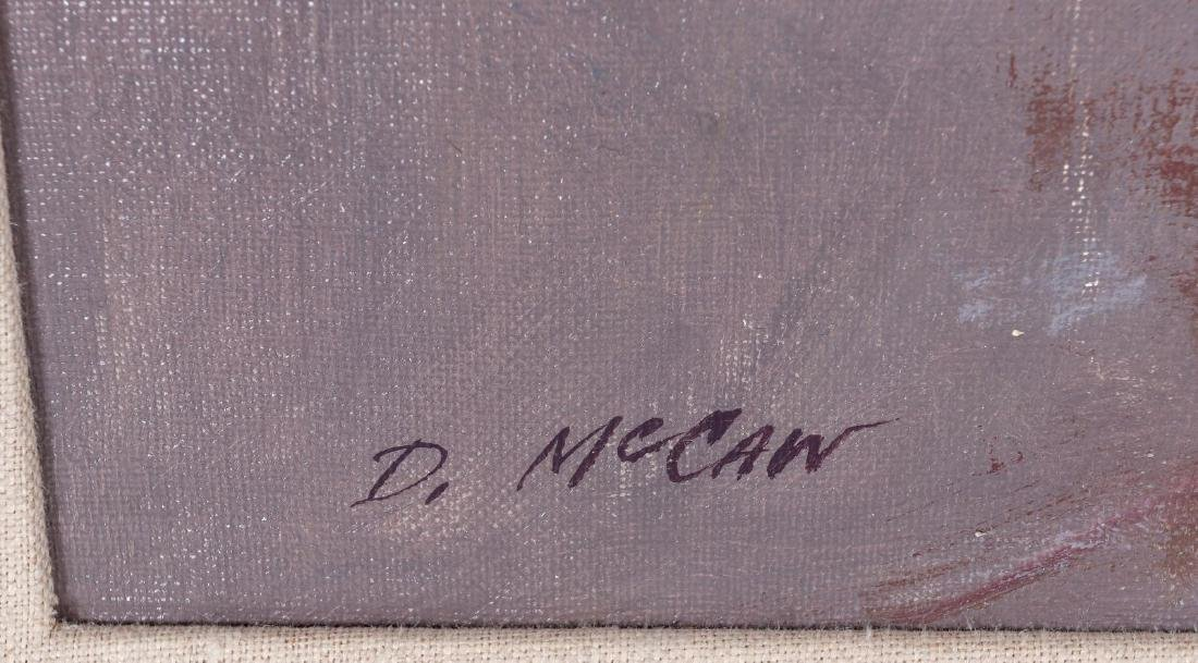 DAN McCAW (BORN 1942) OIL ON CANVAS - 7