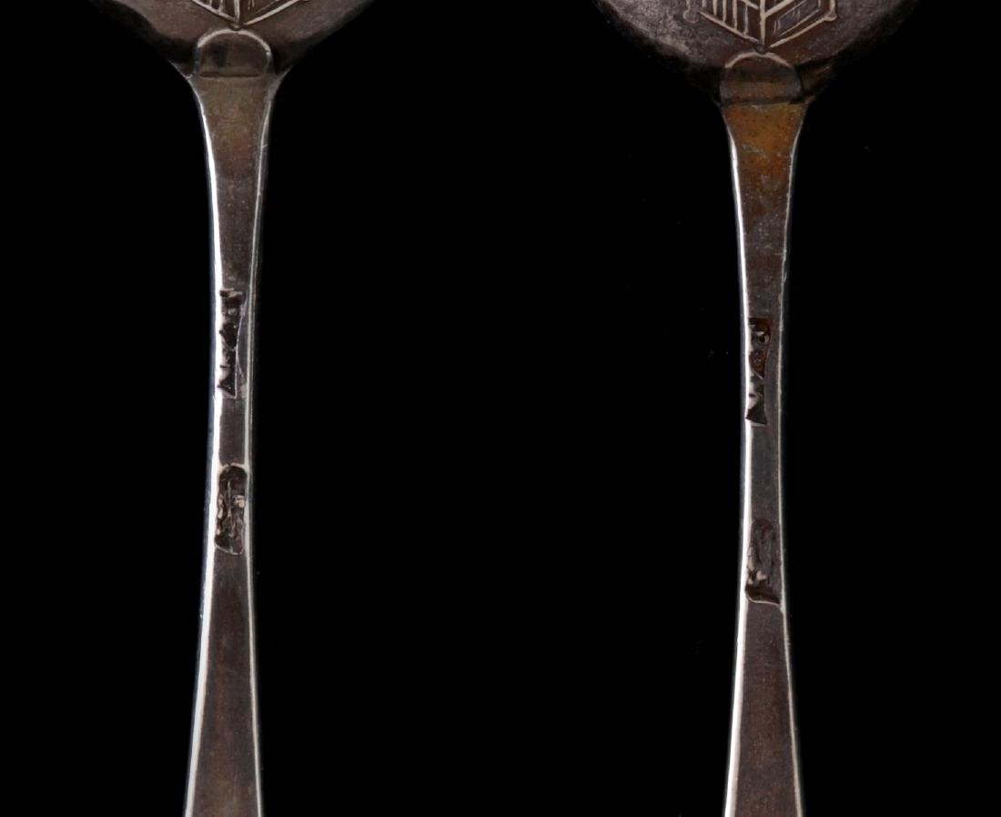 REPRODUCTION 'I LOVE LIBERTY' PICTURE BACK SPOONS - 5