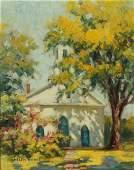 HELEN HODGE (1870 - 1958) OIL ON CANVAS
