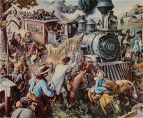 CHARLES BANKS WILSON PENCIL SIGNED OFFSET LITHO