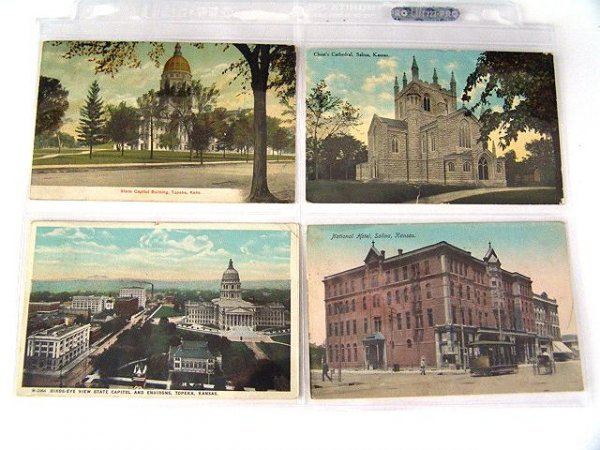 10: 180 EARLY SCENIC POSTCARDS FROM STATES F-K