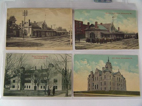 11: 119 EARLY SCENIC POSTCARDS FROM STATES L-M