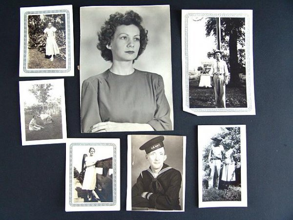 13: ALBUM OF 1930'S AND 1940'S PHOTOGRAPHS