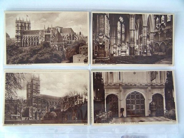 15: BINDER OF 1900'S FOREIGN POSTCARDS