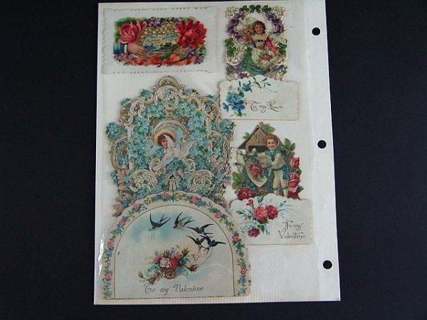 20: ALBUM OF FOLDING VALENTINES & SODA CARDS