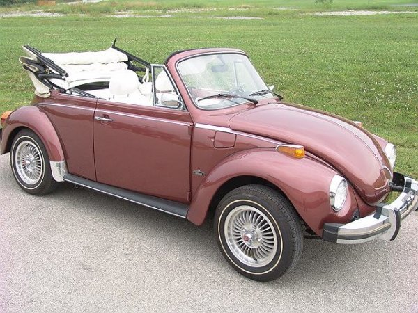 500: 1978 CHAMPAGNE II EDITION VW SUPER BEETLE WITH 40