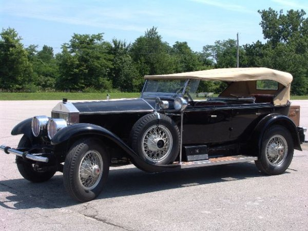 503: JACK DEMPSEY'S 1927 ROLLS ROYCE TOURING CAR