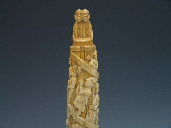 749: IMPORTANT OLD LOANGO AFRICAN CARVING