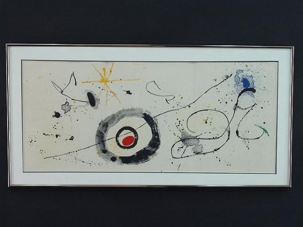 1000: TWO COLOR LITHOGRAPHS BY JOAN MIRO (1893-1983)