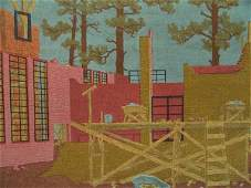 1049: PENCIL SIGNED SCREEN PRINT BY JANET TURNER (1914-