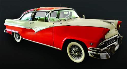 A FULLY RESTORED 1956 FORD FAIRLANE CROWN VICTORIA