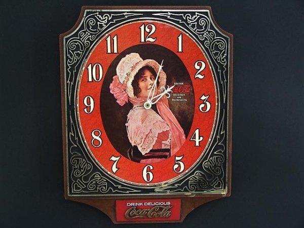 2504: COCA-COLA BETTY CLOCK FROM 1974