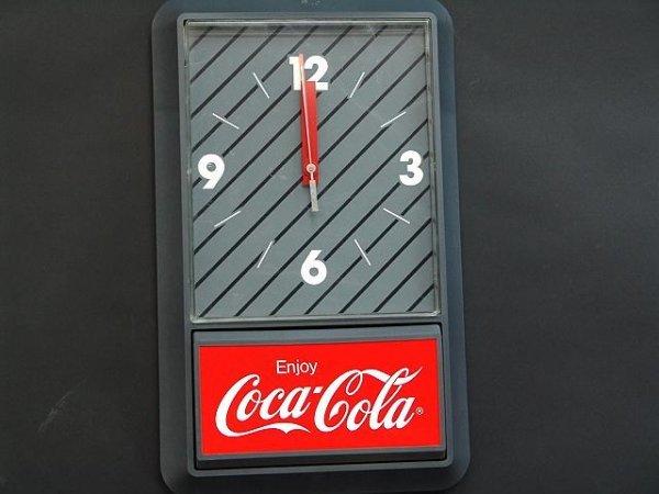 2511: 1980'S PLASTIC COCA-COLA CLOCK