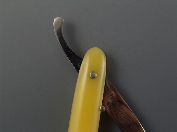 2165: MINT BOXED FROMM RED HEAD ANTQ STRAIGHT RAZOR - 9