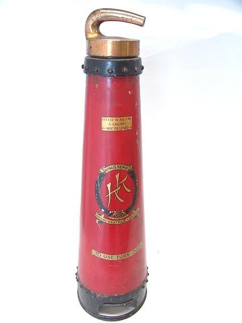 5: KONUS KEMIK PAINTED METAL FIRE EXTINGUISHER