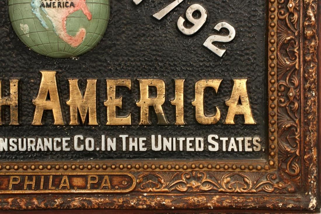 INSURANCE COMPANY NORTH AMERICA SELF FRAMED SIGN - 4