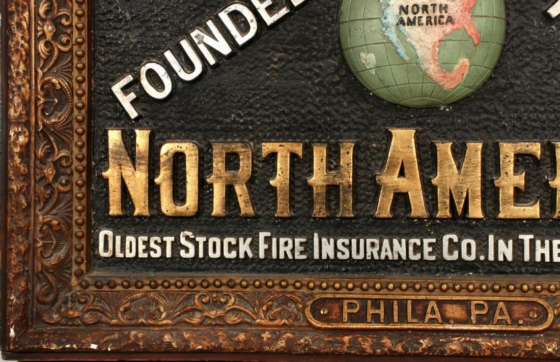 INSURANCE COMPANY NORTH AMERICA SELF FRAMED SIGN - 5