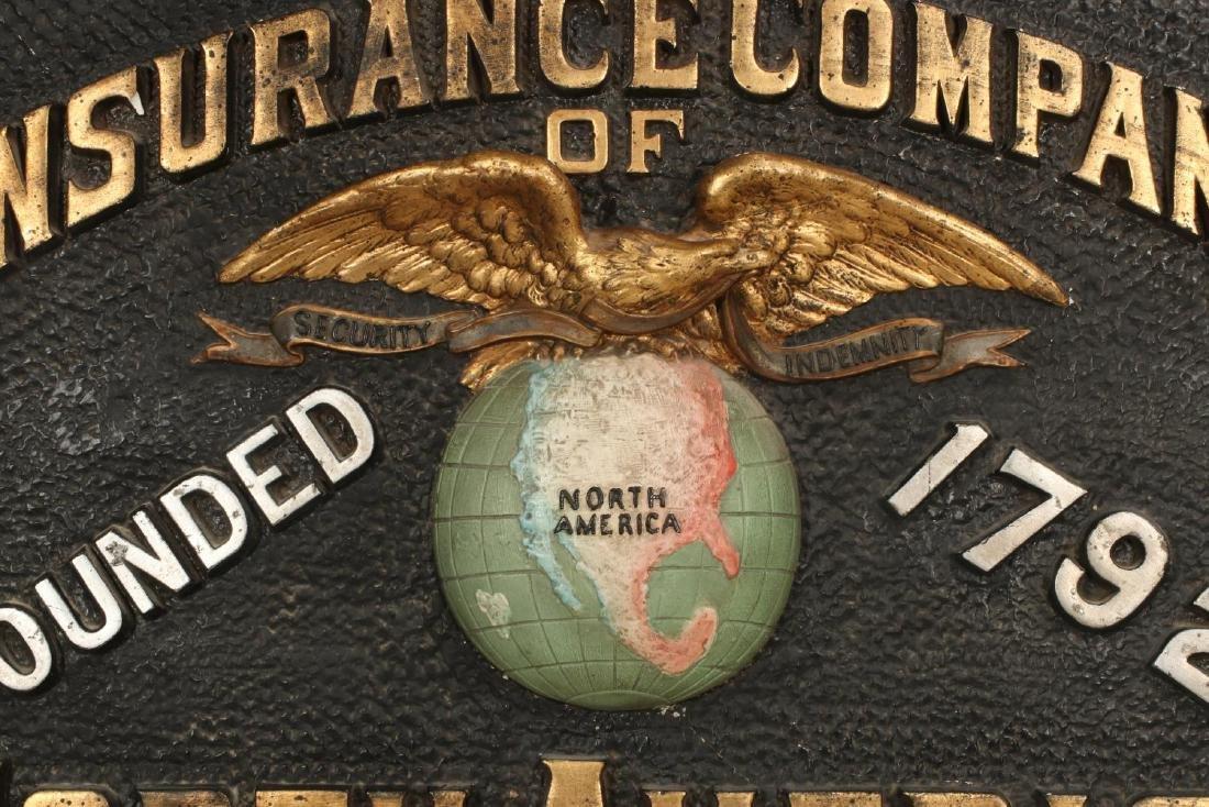 INSURANCE COMPANY NORTH AMERICA SELF FRAMED SIGN - 6