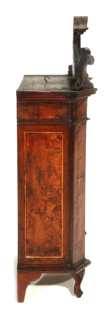 AN 18TH CENTURY ITALIAN WALNUT INLAID CABINET - 8
