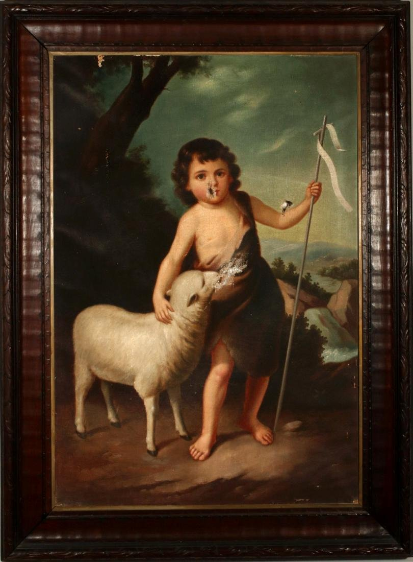 ST. JOHN THE BAPTIST AS A CHILD AFTER MURILLO O/C - 2