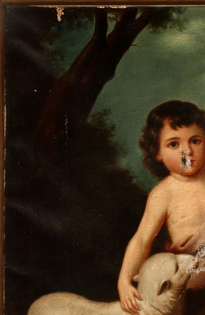 ST. JOHN THE BAPTIST AS A CHILD AFTER MURILLO O/C - 3
