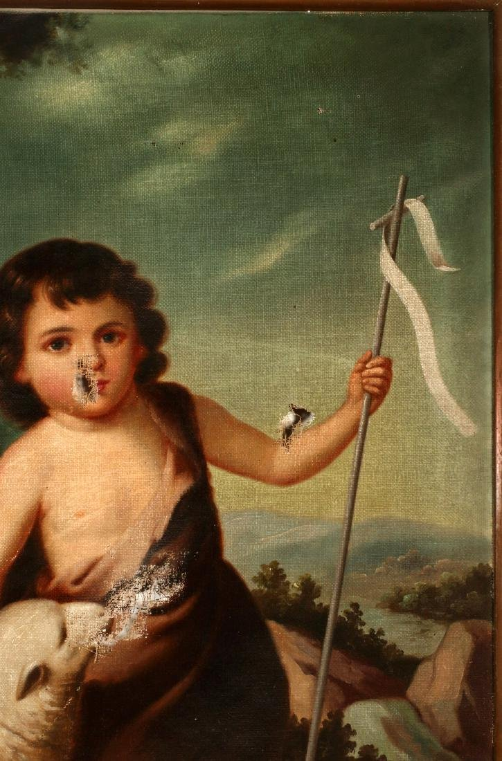 ST. JOHN THE BAPTIST AS A CHILD AFTER MURILLO O/C - 4